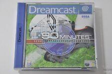 90 MINUTES SEGA CHAMPIONSHIP FOOTBALL - DreamCast Game - Sega - PAL - CIB