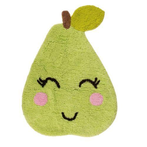 Sass & Belle Poppy Pear Nursery Kid's Bedroom Home Rug Mat