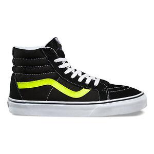 21b7da3a99 Image is loading Vans-SK8-Hi-Reissue-Mens-Skate-Shoes-Neon-