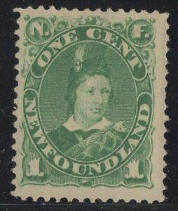MOTON114-45-Newfoundland-Canada-mint-well-centered