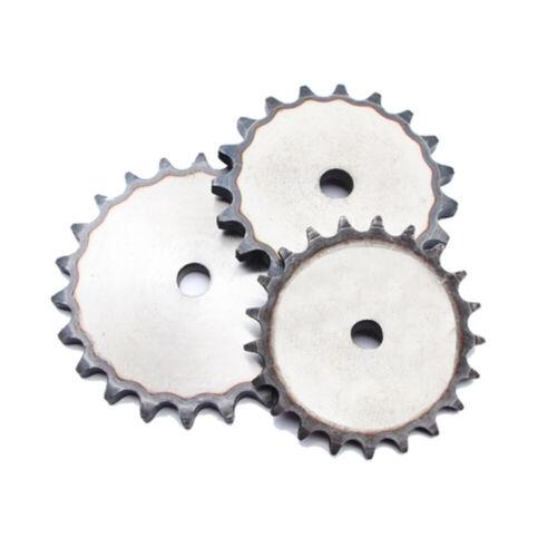 Tonhöhe 1//2 Zoll Flach 9 bis 60 Zähne Kettenräder für #40 Rollenketten 08B