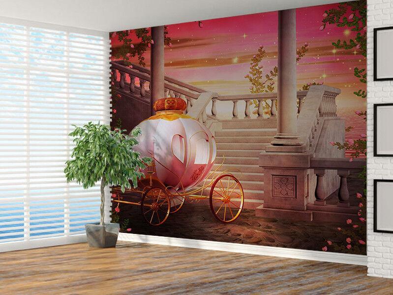 Wunderschön Schlitten Fantasie Foto Wandtapete Wandgemälde (21540883)
