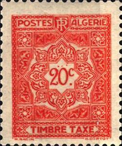 ALGERIA-1947-1955-Segnatasse