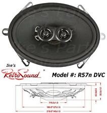 RetroSound R-57n-f DVC Dual Voice Coil 5x7 100W-Upgrade Replacement Speaker Ford