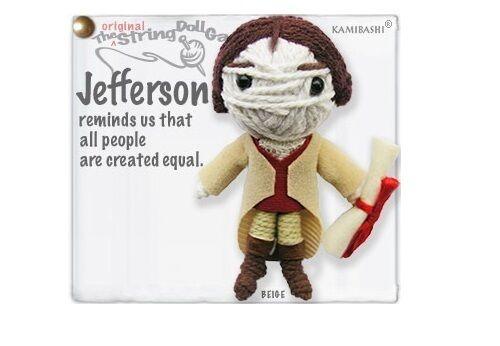 Kamibashi Thomas Jefferson The Original String Doll Gang Keychain Clip
