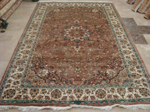 Area Rug Hand Knotted Wool Silk