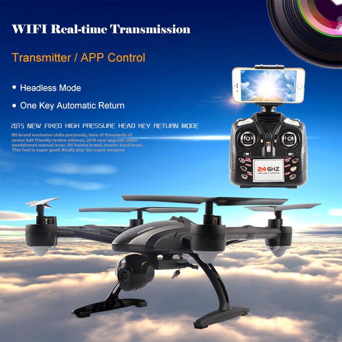 JXD 509W WIFI FPV 720P CAM  2.4GHz Phone Control 4 Channel 6-Axis Gyro Quadcopter  risparmia il 50% -75% di sconto