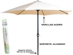 SOMBRILLA-3M-TUBO-ALUMINIO-48MM-14013