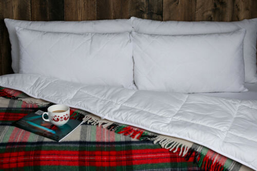 Merino Wool Duvet Cotton Single Double King FREE Next Day delivery