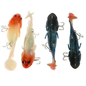 2Pcs-Soft-Fishing-Lures-Plastic-Glow-Luminous-Lead-Carp-Lure-4-53-034-38g-Bait