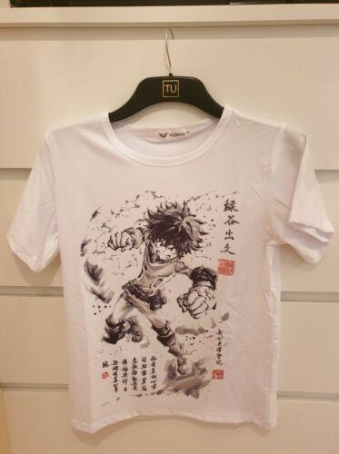M L Anime T-shirt My Hero Academia T-Shirt Unisex Size S