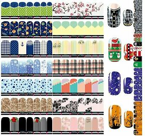NAIL-WRAPS-STICKERS-Full-Self-Adhesive-Polish-Foils-Decoration-nail-stickers-Hot