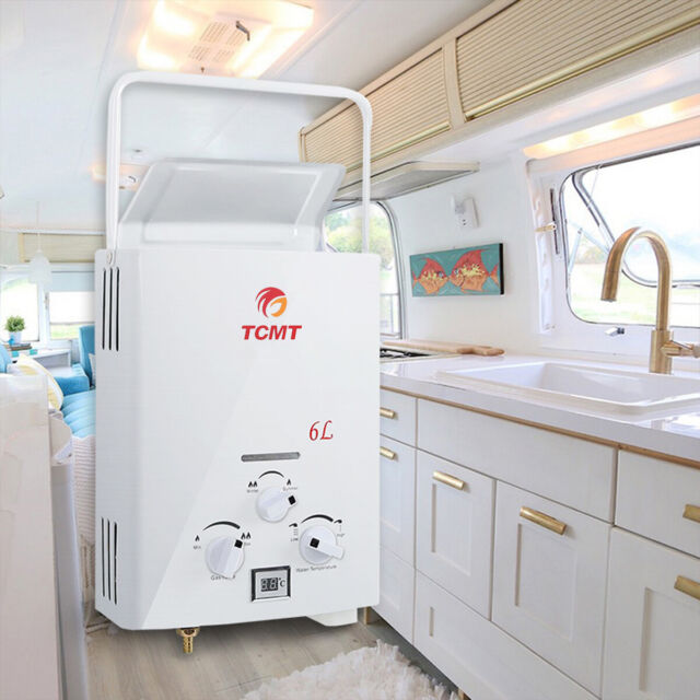 Tankless Water Heater Portable Outdoor Camping Shower Rv
