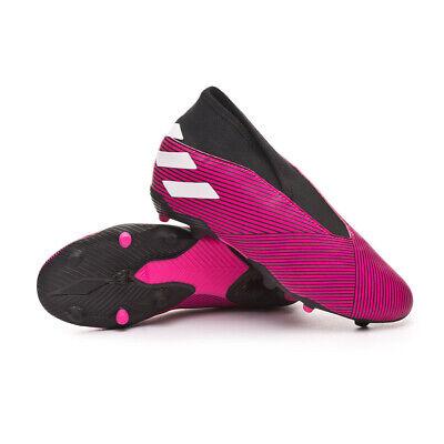 Scarper da Calcio per Bambini Senza Lacci Adidas Nemeziz 19.3 LL FG J (Viola) | eBay