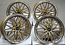 "18"" CRUIZE 190 GDP ALLOY WHEELS FIT AUDI A3 S3 RS3 A4 S4 RS4 A5 S5"