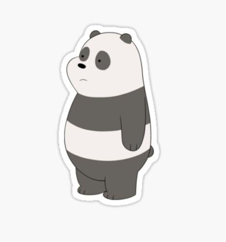 We Bare Bears gay pride cartoon Sticker decal car laptop cute panda polar 1
