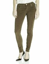 Sanctuary Clothing New Women's Olive Green Corduroy Skinny Jeans Pants Size 28