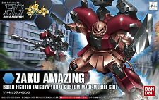 Gundam HG Build Fighters 002 Zaku Amazing Tatsuya Yuuki Custom Made Bandai Kit