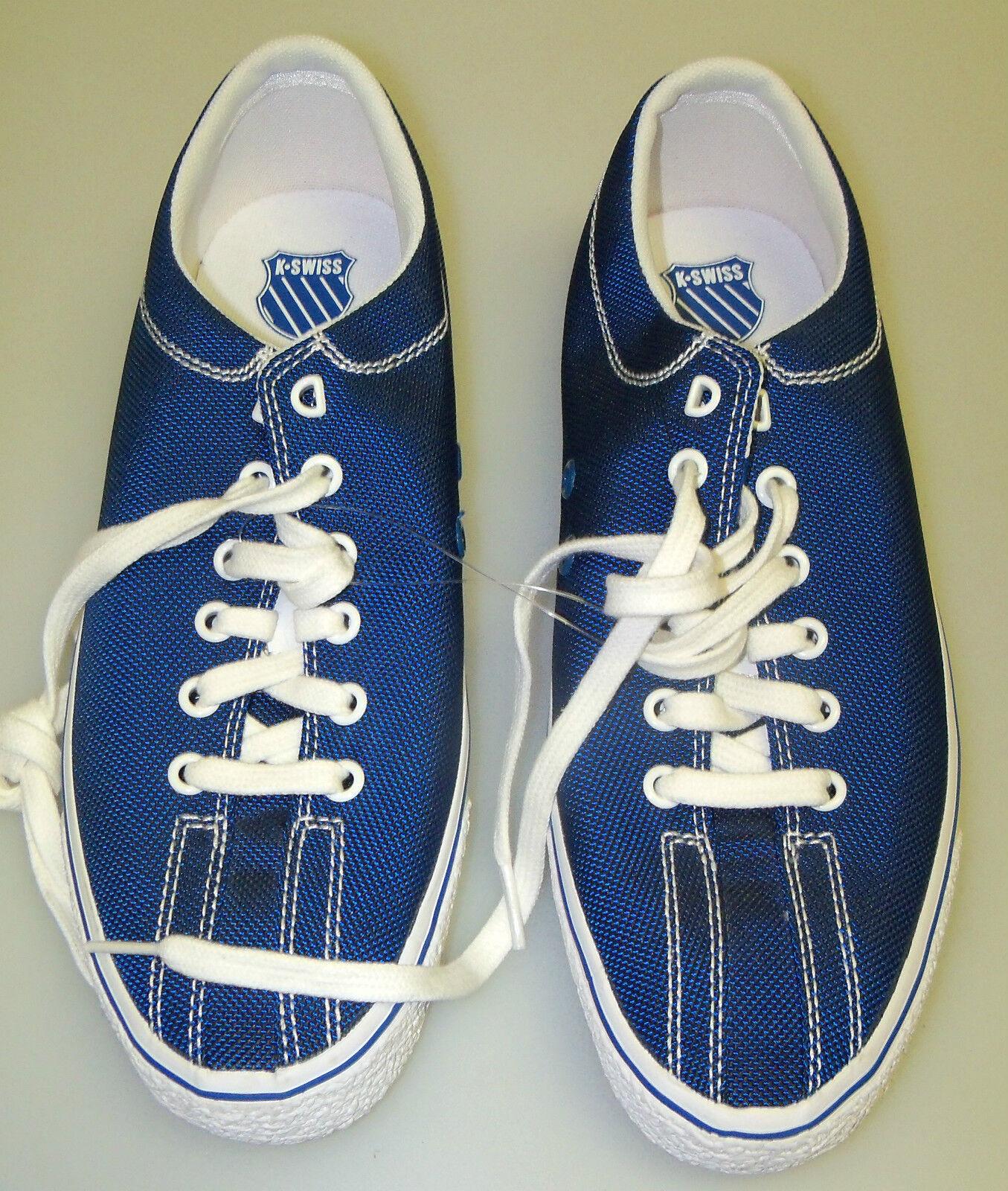 K-Swiss Gr. UK 8 Herren NWOB Blau Mode Turnschuhe - NWOB Herren - Bx = SHO-12 e266b8