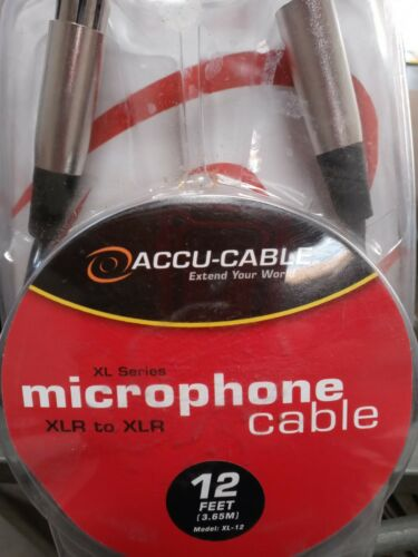 Microphone cable 12 Ft Xl-12