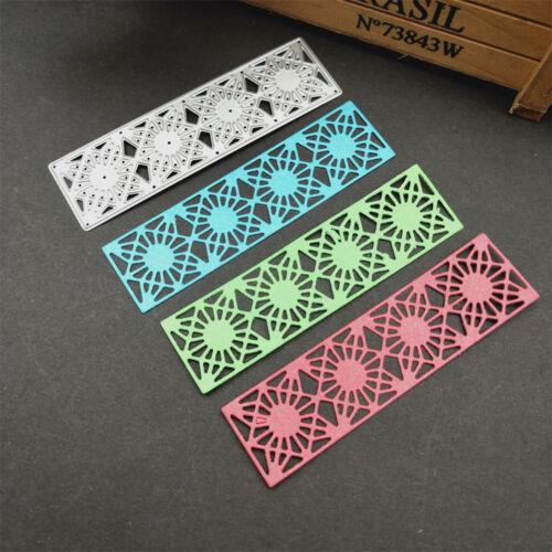 1PC Little grid Metal Cutting Dies Stencil for DIY Scrapbook Paper Card FEH
