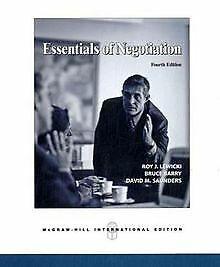 Essentials of Negotiation von Roy J. Lewicki   Buch   Zustand akzeptabel