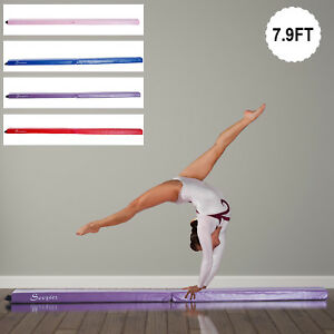 8FT-Folding-Floor-Balance-Beam-Foam-Gymnastic-Training-Low-Height-Beam-3-Color