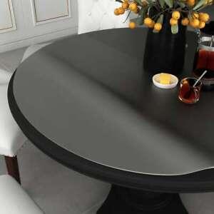 vidaXL-Tischfolie-Matt-80cm-2mm-PVC-Tischdecke-Schutzfolie-Tischschutz-Folie