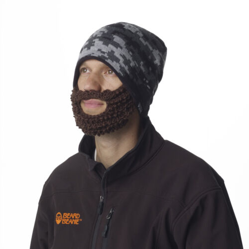 Beard Beanie Digital Camo The Original