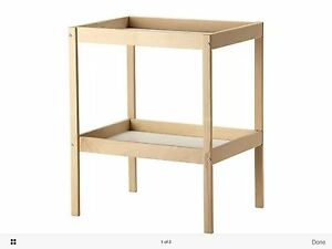 IKEABrand New  SNIGLAR Changing table Beechwhite 72x53 cm - <span itemprop='availableAtOrFrom'>New Ash Green, Kent, United Kingdom</span> - IKEABrand New  SNIGLAR Changing table Beechwhite 72x53 cm - New Ash Green, Kent, United Kingdom