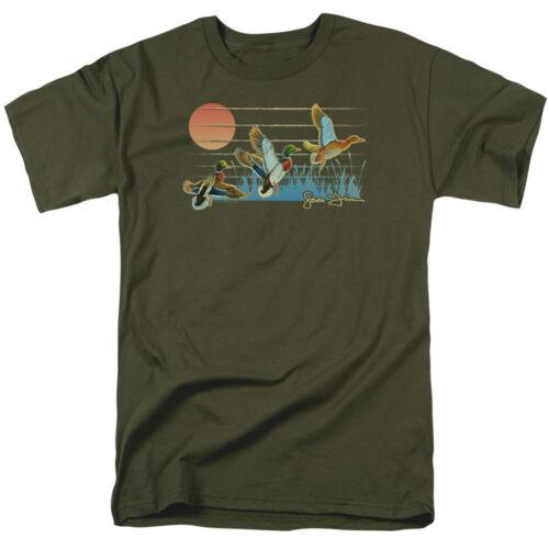 Wild Wings Wildlife Art THREE DUCKS Licensed Adult T-Shirt All Sizes