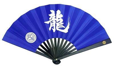 Tessen Japanese Iron fan Samurai weapon 24cm black F//S w//Tracking# Japan New