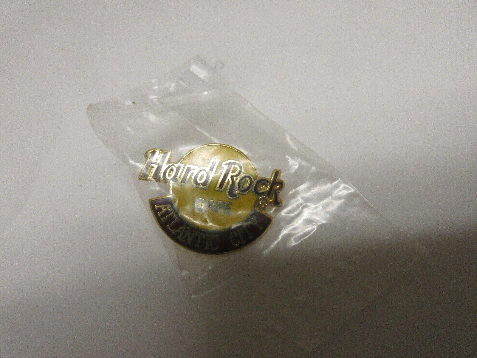 Hard Rock Cafe Pin , Atlantic City , N.J. New In Origin
