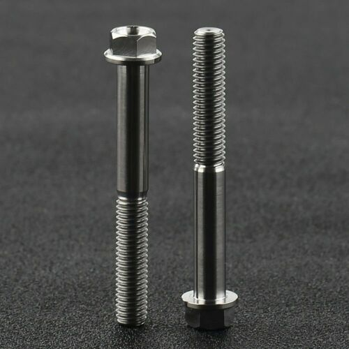 Lots Titanium Ti M5//M6//M8 Bolt Button Head Key Screws Bolt Bicycle Accessories