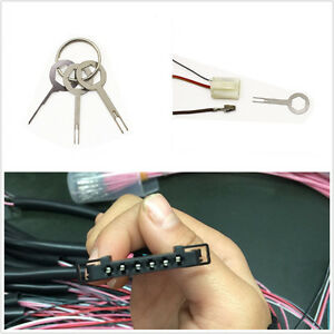 3-Pcs-Aluminum-Autos-SUV-Electrical-Terminal-Wiring-Crimp-Connector-Removal-Key