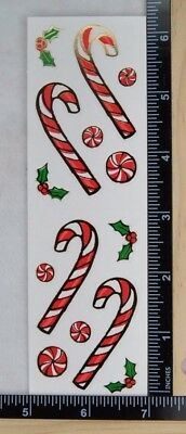 Mrs Grossman JOLLY ORNAMENTS Stickers REFLECTIONS CHRISTMAS
