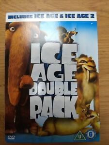 Ice Age Ice Age 2 The Meltdown Double Pack Dvd In As New