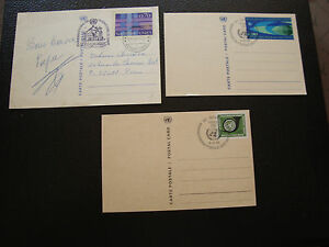 United-Nations-Geneve-3-Cards-Whole-1969-1969-1977-cy9-United-Nations