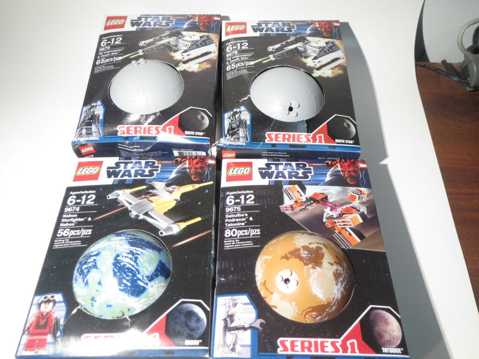 Lego Star Wars  Planets Series One 4 pieces  de gros