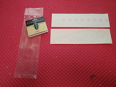 4 Authentic NOS  Schwinn seat tube decal silver 9217s bx12