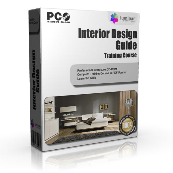 INTERIOR DESIGNER DESIGN BASICS GUIDE TRAINING STUDY COURSE MANUAL ON CD