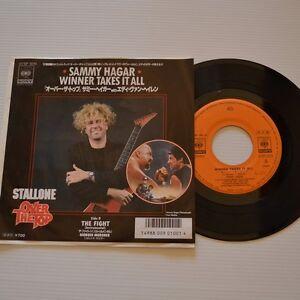 VAN-HALEN-Sammy-HAGAR-Winner-takes-it-all-1987-7-034-SINGLE-JAPAN-PROMO-COPY