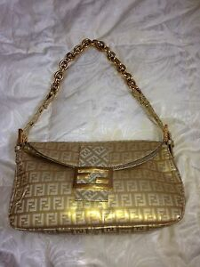 Fendi Gold Handbag