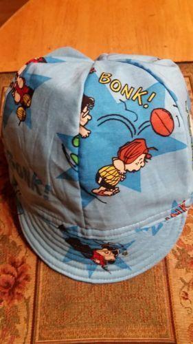 BONK ! BAM ! KLUNK ! PEANUTS WELDING CAP MADE WITH