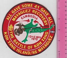 USMC USAF USN USS Coral Sea PATCH May 1975 Mayaguez Rescue-KOH TANG ISLAND-VA22