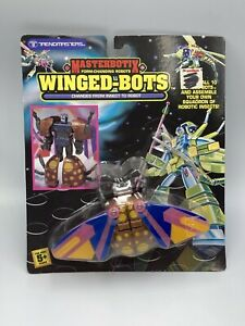 Trendmasters Transformers KO 1992 Masterbotix Winged-bots MOC Bots Fly Butterfly