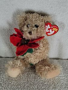 Ty - 2005 Holiday Teddy - Christmas Bear - Beanie Babies Original w/Tags