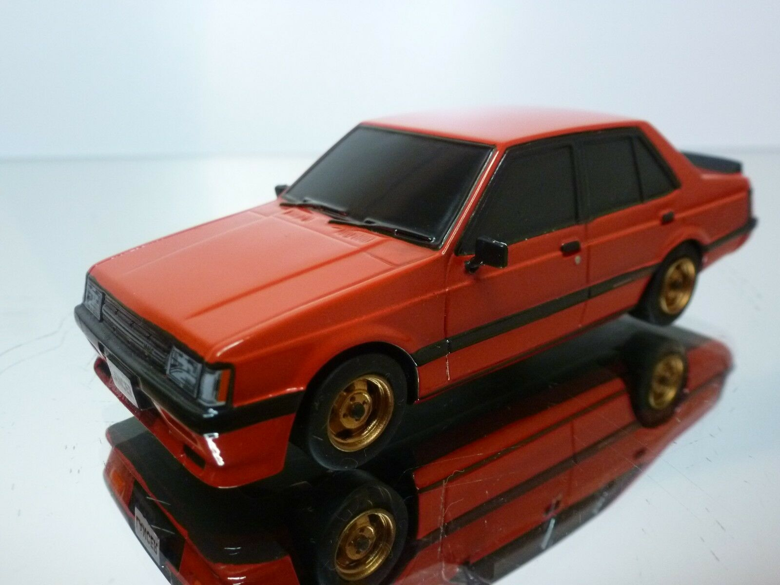 80 COLLECTION MITSUBISHI LANCER TURBO GSR - RED 1 43 RARE - EXCELLENT - 14