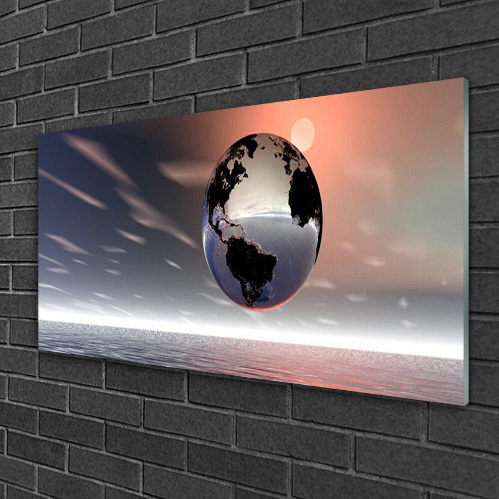 Image sur verre Tableau Impression 100x50 Art Terre