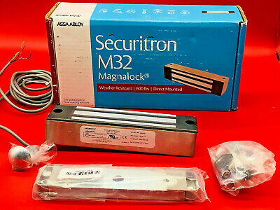 Securitron Magnalock Electromagnetic Lock 12//24VDC 600lbs Holding Force